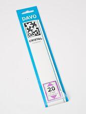 DAVO CRISTAL STROKEN MOUNTS C20 (215 x 24) 25 STK/PCS