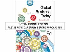 Global Business Today 8th Edition by Charles W. L. Hill