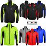 NEW Men Winter Cycling Jacket Thermal Fleece Windproof Windstopper Long Sleeves