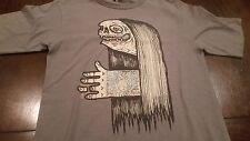 Rare VOLCOM Artist Series SIEBEN Street Art Graphic T-Shirt (Small) Great