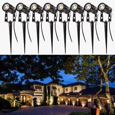 1-10X 5W 12V COB LED Spotlights Landscape Light Lamp Spike Yard Garden Outdoor