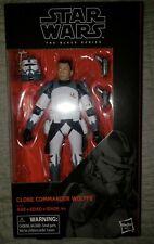 "Hasbro Star Wars The Black Series Clone Commander Wolffe 6"" Figure (E2259) MIB"