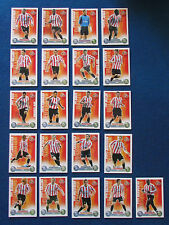 Topps Match Attax Cards - Lot of 21 - Sunderland - 2007/08 - Red Back