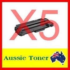 5 x Toner for Dell 1130 1130N 1133 1135 1135N Black Compatible Cartridge Printer