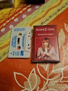 France Gall Cassette Audio, K7, TAPE