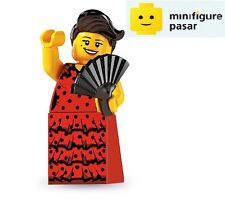 Lego 8827 Collectible Minifigure Series 6: No 6 - Flamenco Dancer - New