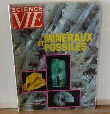 Revue Science et Vie No 116 - 1976 - Hors Série - Minéraux et Fossiles