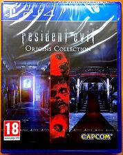 Resident Evil - Origins Collection - Playstation PS4 Games - Brand New & Sealed