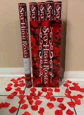 "24 Wedding Popper Cannon Rose Petals Confetti Photo Flowers Valentines 24"""