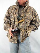 Hunting Camo GAMEHIDE Hush Hide Mossy Oak Shodow Grass w/Hood Parka  XL H3