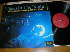 "HAL ""CORNBREAD"" SINGER AND HIS ALL-STARS BLUES IN THE NIGHT LP  FIDELIO ATL 4112"