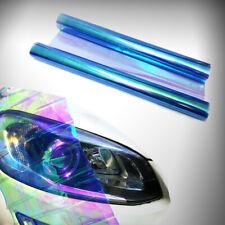 """12""""x48"""" Chameleon Light Blue Headlight Taillight Fog Light Vinyl Tint Film Sheet"""