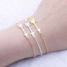 Pfeil Armband Damen Schmuck Richtungsweiser Arrow Edelstahl Kette Armkette