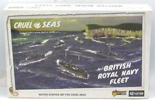 Cruel Seas 782611001 British Royal Navy Fleet (Starter Set) WWII Ships Warlord