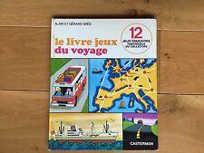 Alain et Gérard Grée Le livre-jeux du voyage Casterman 1972