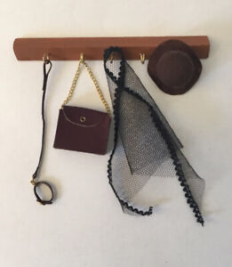 Dolls House Coat Hooks And Accessories