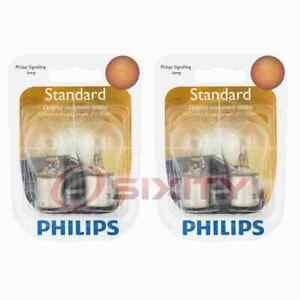 2 pc Philips Rear Turn Signal Light Bulbs for Seat Alhambra Cordoba Leon rw
