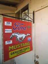 New ListingFord Mustang Genuine Parts & Accessories Racing Porcelain sign w/ Bracket