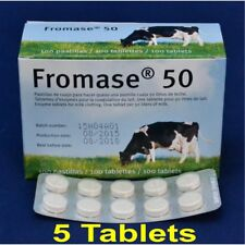 Fromase 50 - Vegetable Rennet Tablets - Pack of 5 Tablets Best Before 09/2019
