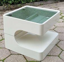 Opal Möbel Beistelltisch Design midcentury mid century Kunststoff 60er 70er Kult
