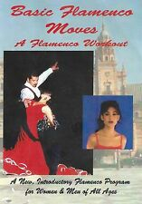 Flamenco Basic Moves, FLAMENCO WORKOUT DVD, Full Screen Cool New