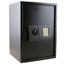 Home Use Security Box Electronic Password Steel Plate Safe Storage Cabinet White