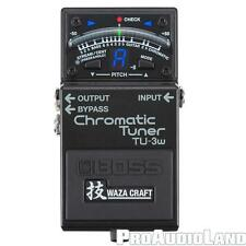 Boss TU-3W Waza Craft Chromatic Guitar Tuner NEW free shipping