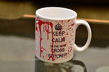 KEEP Calm Best Cross Stitcher Bloody MugJoke Birthday Gift Printed Coffee Sewing