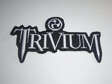 TRIVIUM IRON ON EMBROIDERED PATCH