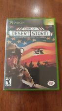 Conflict: Desert Storm (Microsoft Xbox, 2002) MINT COMPLETE! MAIL TOMORORW!