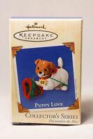 Hallmark: Puppy Love - Series 12th - 2002 Keepsake Ornament