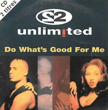 2 UNLIMITED - Do what's good for me - 2 Tracks