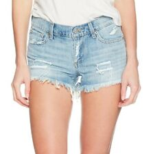 Lucky Brand Womens Reyes Denim Shorts Blue Size 27 4 Mid Distressed $45- 821