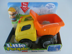 Fisher-Price LITTLE PEOPLE *Dump Truck* Headin' out to the construction site!