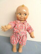 """Antique Vintage 13"""" Rose O'Neal Cameo 1938 Scootles Kewpie Doll Composition"""