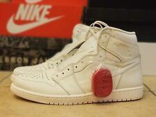 Nike Air Jordan Retro 1 High OG Sail White University Red 555088-114 Size 15