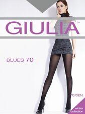 Giulia Blues 70 Den Opaque Pantyhose  Black