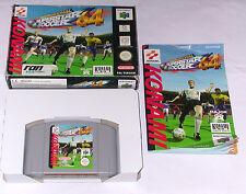 """Spiel: INTERNATIONAL SUPERSTAR SOCCER """" KOMPLETT OVP + ANLEITUNG N64 Nintendo 64"""