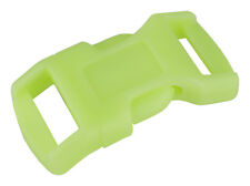 """10-1/2"""" Glow-in-the-Dark Economy Contoured Side Release Plastic Buckle Closeout"""