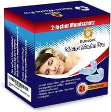 Runesol 4 x Aufbissschiene Zahnschutz für ZähneknirschenAufbissschienen