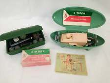 SINGER Buttonhole machine & sewing machine attachment lot