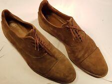 ZARA MAN Mens Suede Brown Lace Up Shoes - Brown - UK 9.  Pre-worn