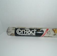 Vintage Contact Brand Adhesive Plastic Shelf Liner Fruits 1980s Rubbermaid UGLY