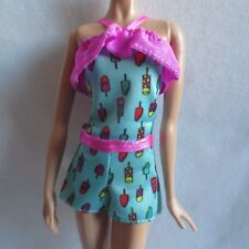 New Barbie Fashionista Doll Summer Treats Ice Cream Popsicle Romper ~ Clothing