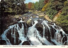 B100624 swallow  falls betws y coed   snowdonia national park wales