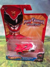 New 2012 Power Rangers Red Ranger Dragon Zord Hot Wheels 1:64  FREE SHIP