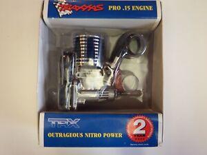 TRAXXAS -PRO .15 ENGINEOUTRAGEOUS NITRO POWER PULL START - Model # TRX 4010