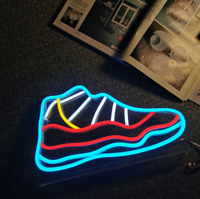Air Jordan 11 Sneaker Neon Sign Light HypeBeast Wall Light Room Wall Decor Gift