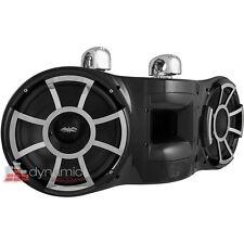 """Wet Sounds REV410B-SC Black Dual 10"""" Revolution Marine Swivel Tower Speaker USED"""