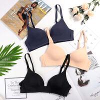 Sexy Women Seamless Push Up Bra Deep V Gather Bras Brassiere Wireless Underwear